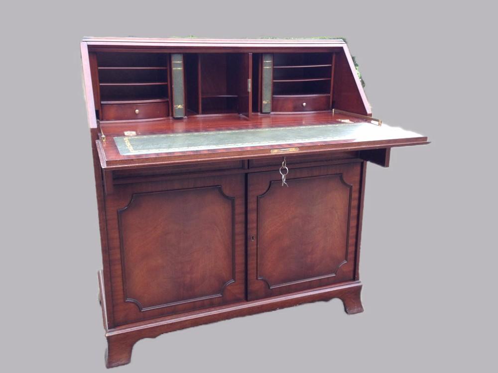 - Antique English Desk/secretaire - Buy Desk Product On Alibaba.com