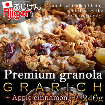 Reliable and Natural wholesale california almond apple cinnamon with Flavorful made in Japan