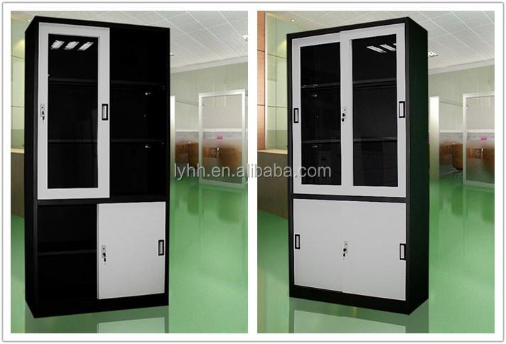 En gros oblique acier armoire bureau uniforme conception porte