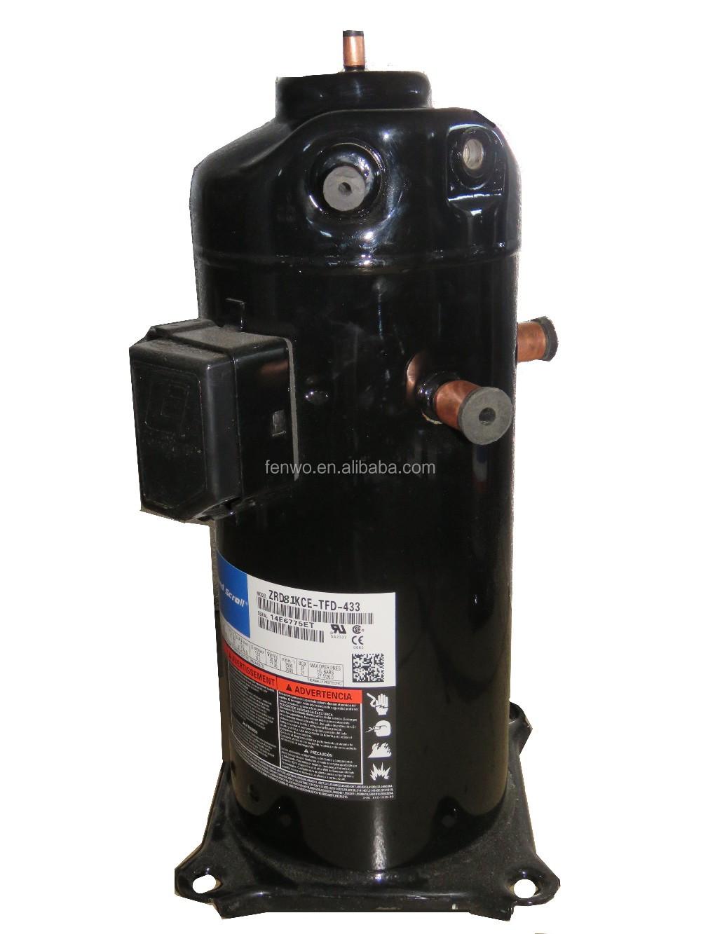 Hermetic Refrigeration Compressor Zrd81kce Copeland Digital Scroll  Compressor Pdf - Buy Copeland Digital Scroll Compressor Pdf,Hermetic  Refrigeration