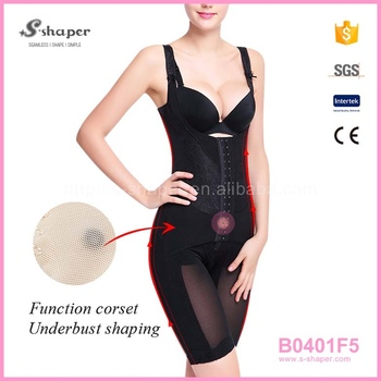 5d837c6b1bf Shapewear Adult Corset Sexy Transparent Bodysuit Slimming Big Women Body  Shaper B0401F5