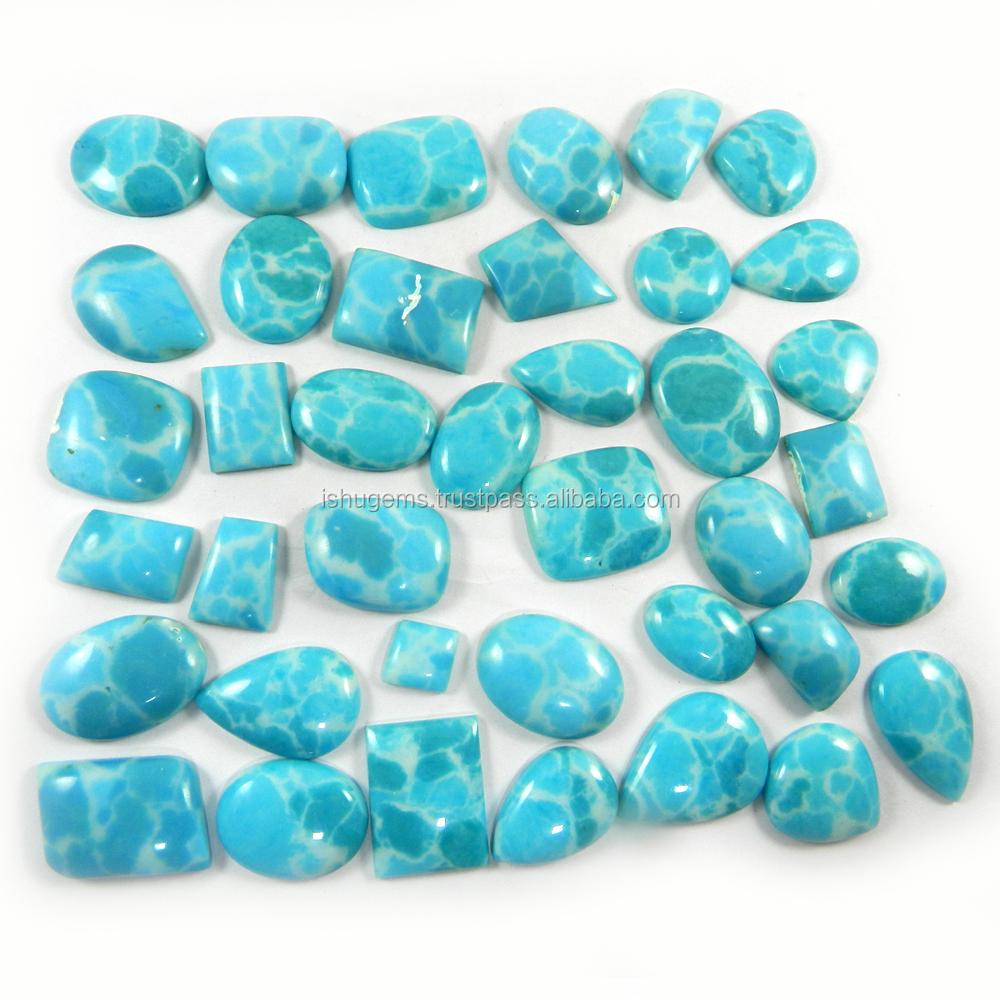 39 Pcs Synthetic Larimar Gemstone 100 Gms Mix Shape Popular ...