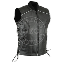 Latest Fashion Motorcycle Leather Vests