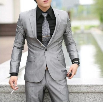 2016 Latest Design Coat Pant Men Suit Custom Suits