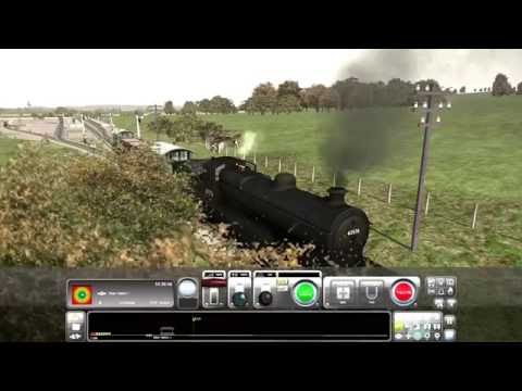 Train Simulator 2016. Barnetby to Brigg pickup Freight train with Thompson B1 Part 1