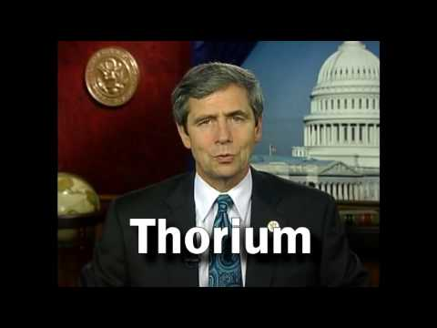 Congressman Support Thorium : Joe Sestak Rep)