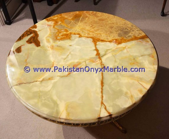 A Grade Green Onyx Table Tops Collection