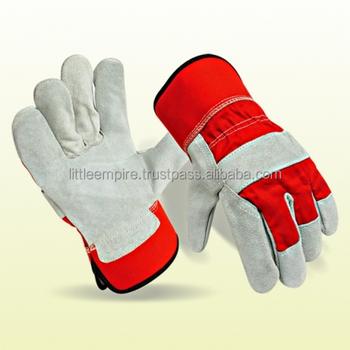 Cowhide Split Leather Working Glove 707