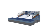 Amusement park equipment Infinite dry revolving slope Buy in India Ski simulator for indoor skiing and snowboarding