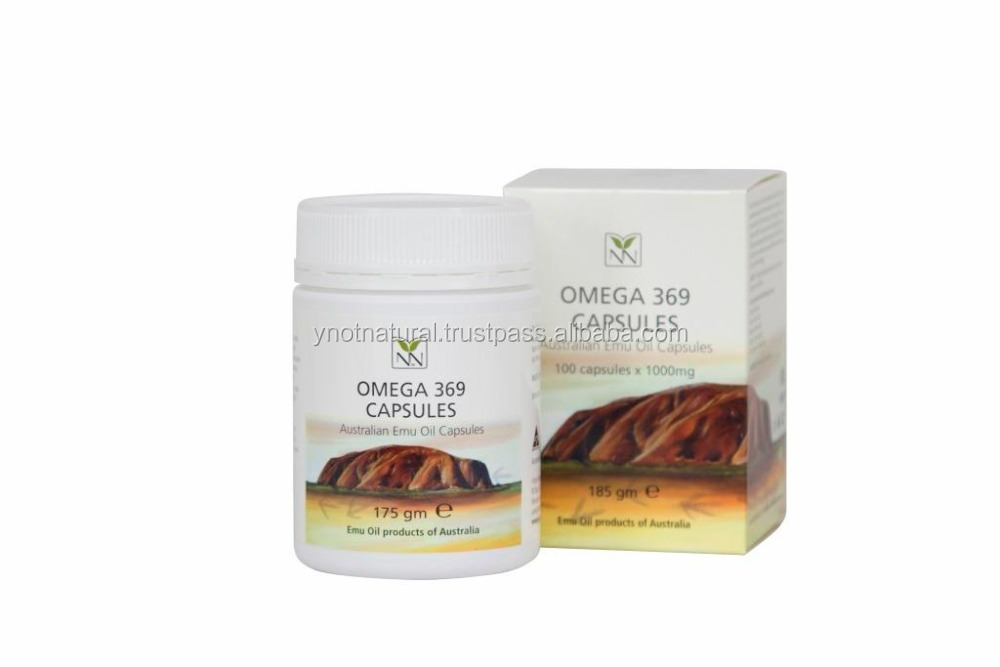 Omega 369 Capsules (australian Emu Oil Capsules)