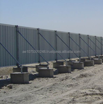 Corrugated Steel Panel Hoarding Buy Fencing Fencing