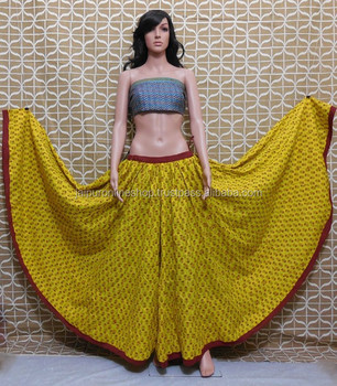 Buy Full Designer Anarkali Style Indian Long Skirts Online - Buy ...