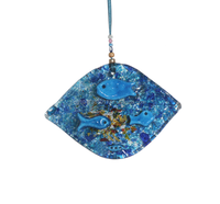 Wall Hanging Thick Glass Eye