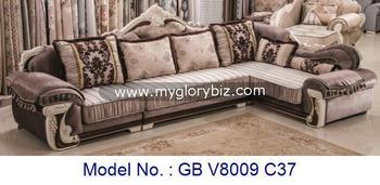 Traditional Wooden Fabric L Shape