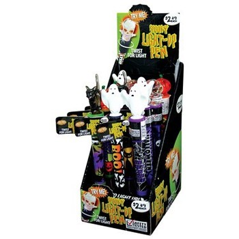 HALLOWEEN LIGHT UP PEN #026761Q