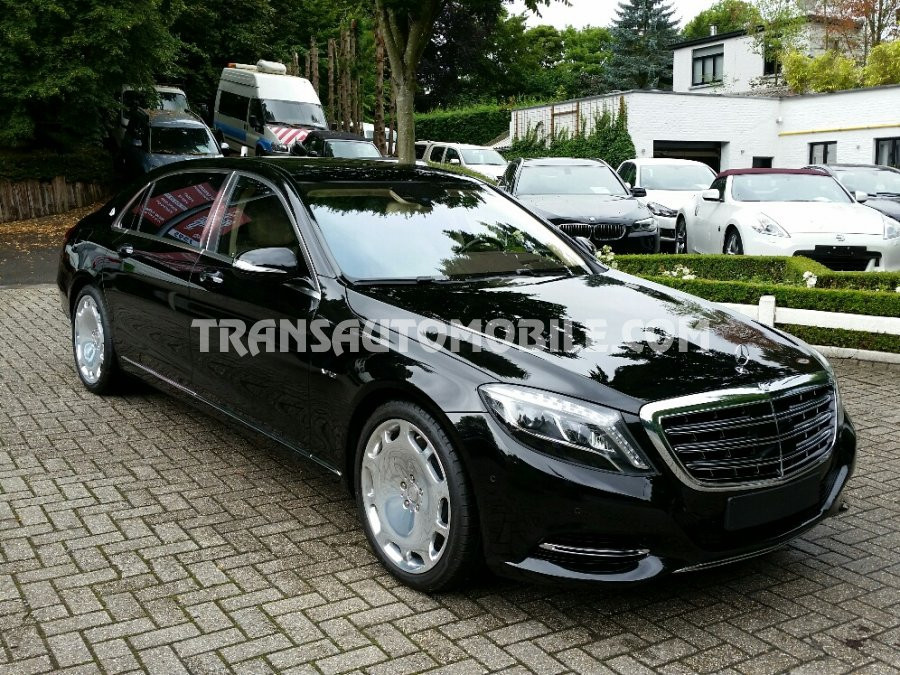 ref 1768 - Car Mercedes S600 Maybach 4X2 Brand new
