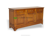 Buffet 3 Door Antique Reproduction Furniture - Chiffonier French ...