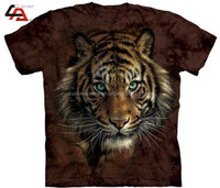 Custom sublimation 3d design t-shirts&100 polyester t shirts