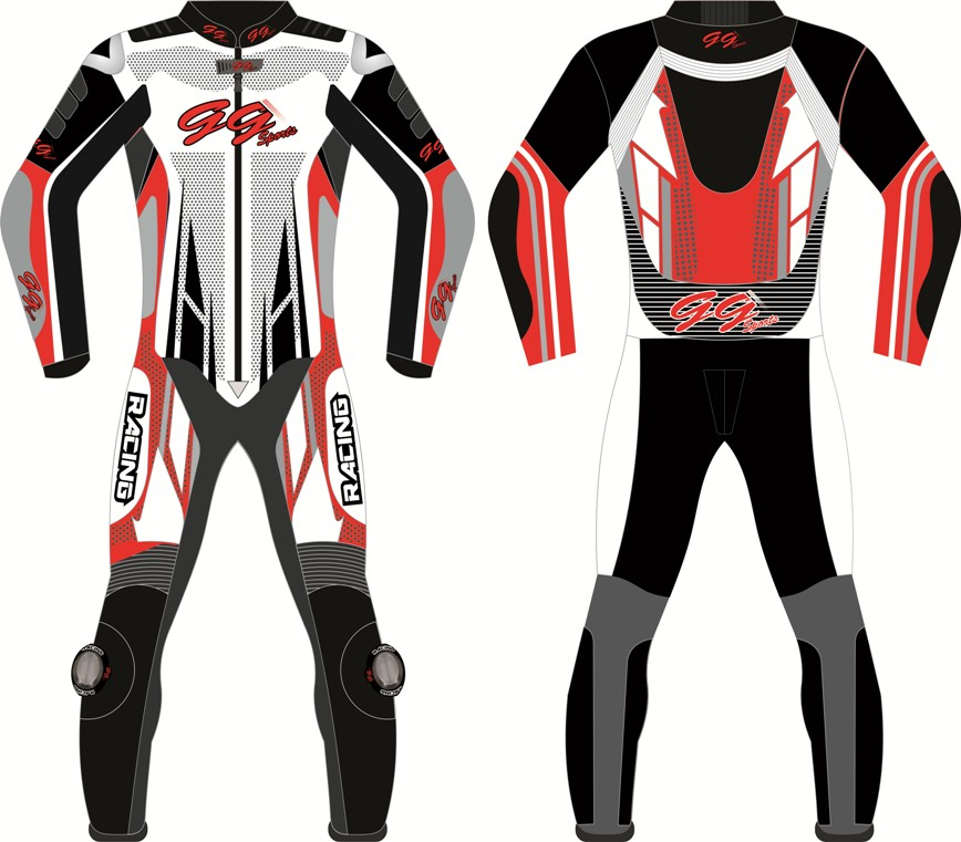 Leather Suit Motorcycle Custom Made CE Armour Any Colour/Size