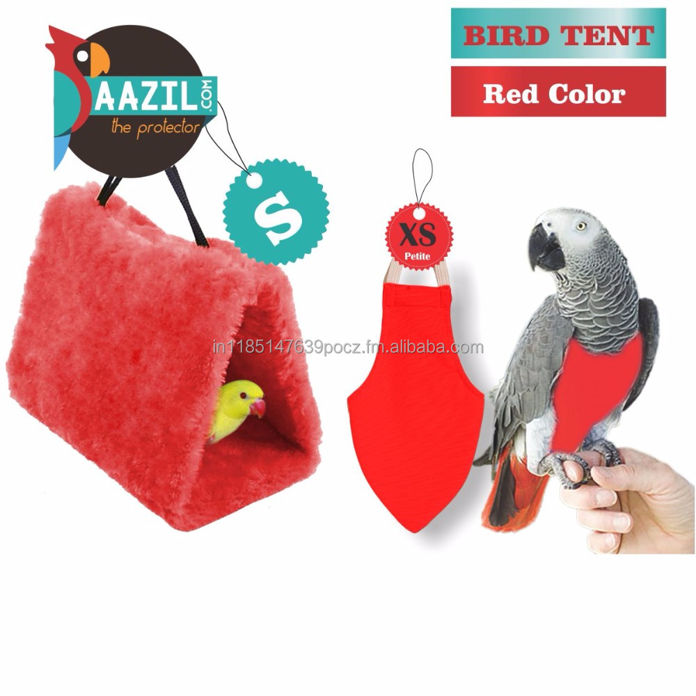 Bird Supplies Shop For Cheap Pet Birds Parrot Hammock Hanging Bed Cave Cage Pink Snuggle Toy Tent Fine Quality