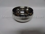 Stainless Steel Hammered Bowl , Stainless Steel Serving Bowl , Small Metal Bowl
