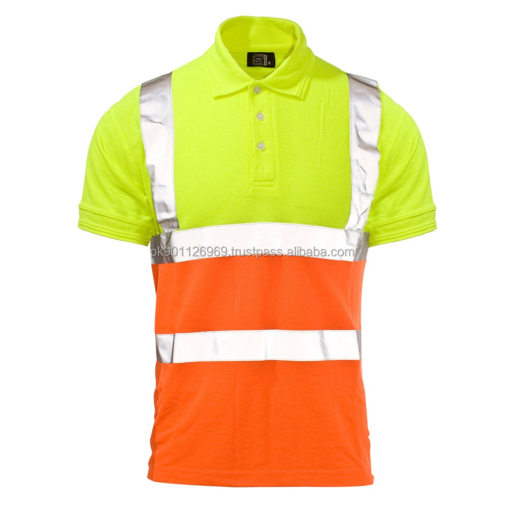 024889a627 Safety Yellow Reflective Shirts