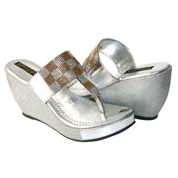 Ladies Fancy Slipper And High Heel