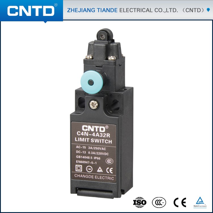 CNTD NEW Developed 1NO1NC Plastic Housing Manual Reset Elevator Limit Switch C4N-4A32R