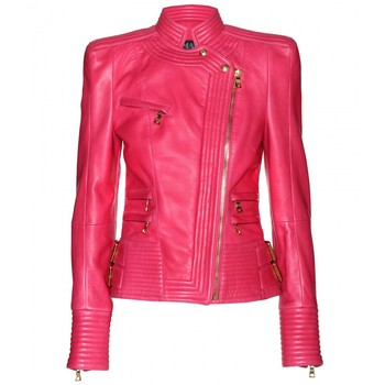 Pink Girl Fashion Wear Leather Jacket Buy Pakistan Leather Jacket