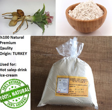 Salep Orchid Extract powder for sahlep hot drink ice cream and medicine TURKEY | %100 Organic salep