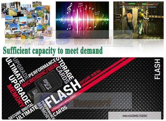 משלוח חינם Wholesales כרטיס זיכרון-2GB 4GB 8GB 16GB 32GB 64GB 128GB class10 מיקרו sd + מתאם החבילה
