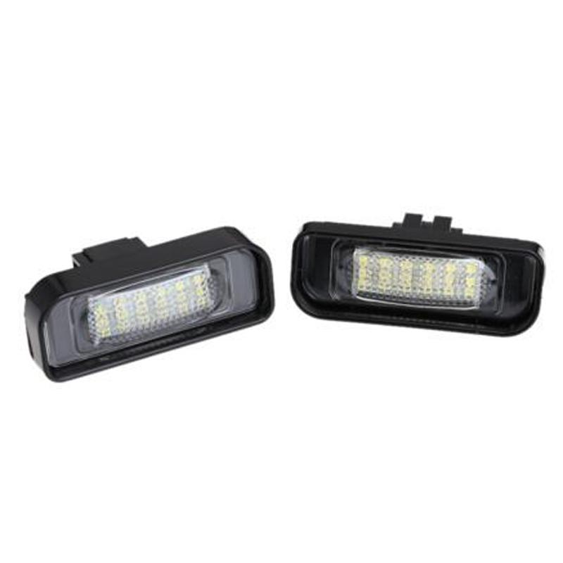 2 шт. ошибок 18 3528 СМД из светодиодов номерного знака свет лампы для W220 1999 - 2005