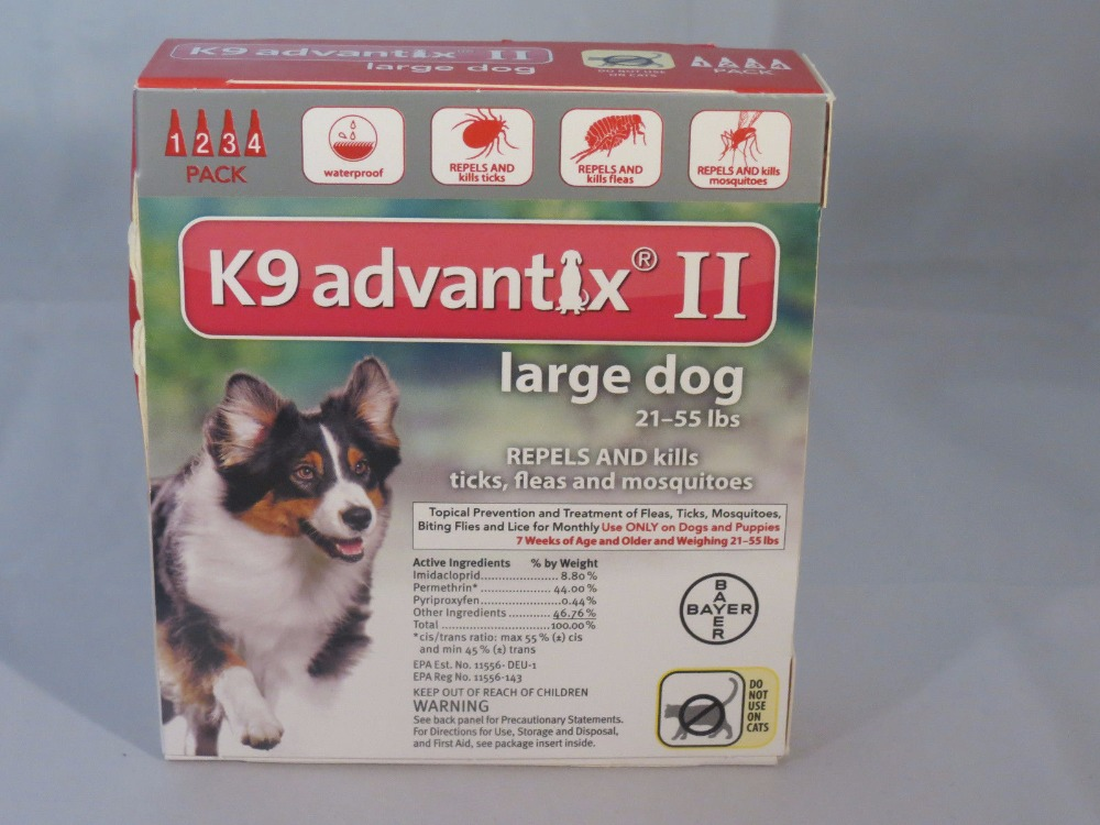 K9 Advantix II For Ticks, fleas and Pest Control For Large Dogs