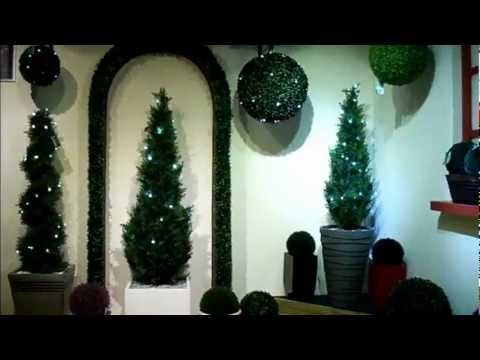 Elegant Looking Artificial Cedar Topiary for Indoors and Outdoors Decor