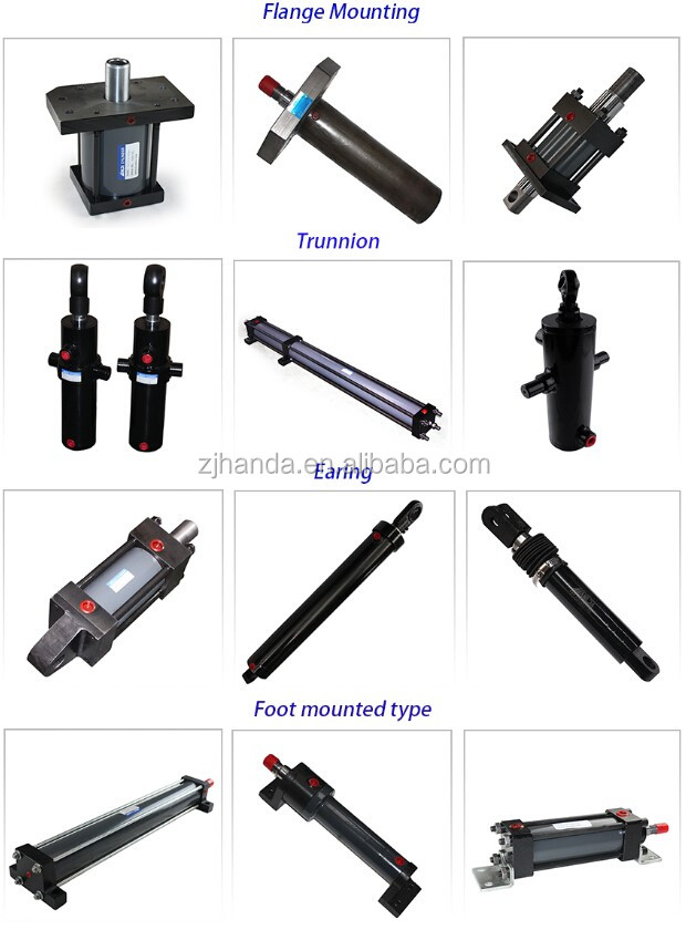 Weld Type Hydraulic Cylinders : Weld type tractor loader hydraulic cylinder buy