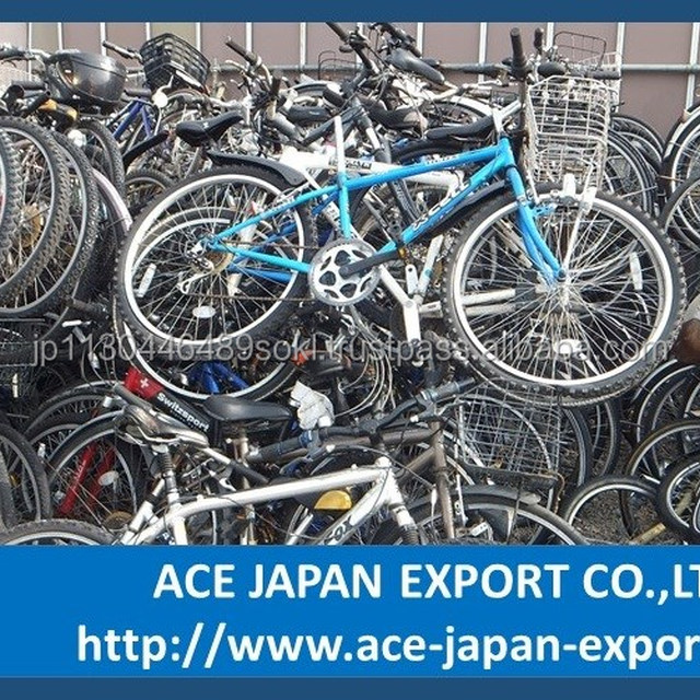 Various types of Japan used bicycle exporter with quick delivery
