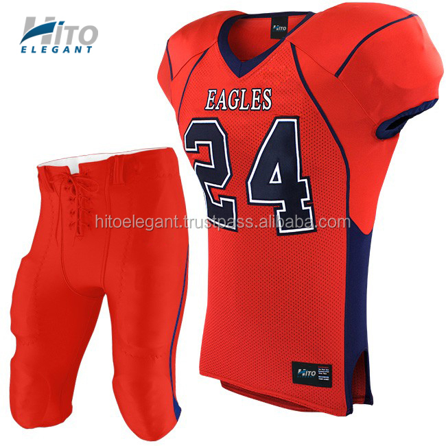 American Football Uniform Set CHARGERS, Hito Elegant High Quality Sportswear HE-NFL-1016