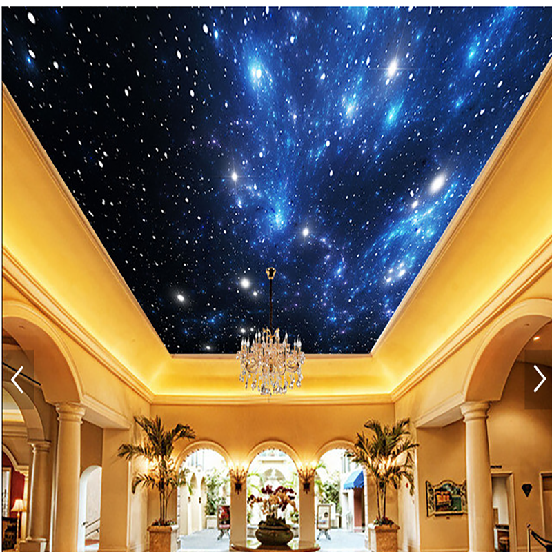 3d high definition cheap ceiling murals wallpapers picture for Ceiling mural wallpaper