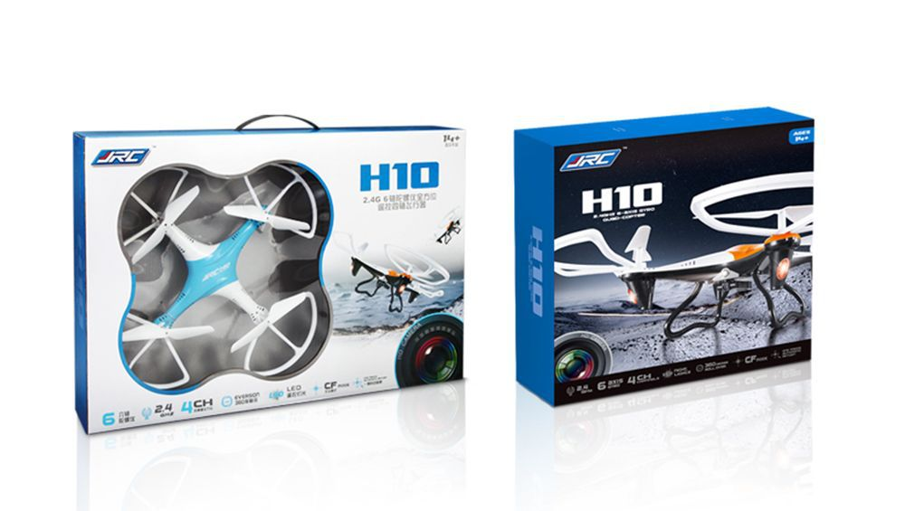 JJRC H10 2.4G Drone 6-Axis Headless Mode LED 2.0MP HD Camera RC Quadcopter