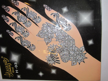 Henna Mehndi Stickers : Hand tattoo bindi henna sticker paypal accepted buy mehndi