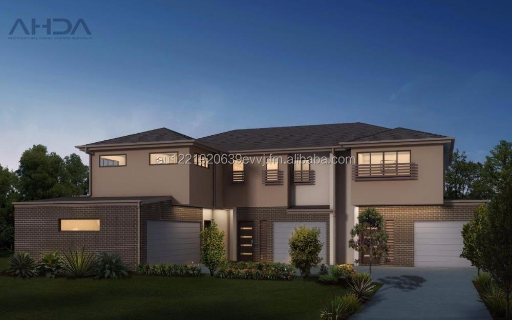 3 Unit Apartment Building Design  Architectural Plans  Ud3001 - Buy  Architecture Design Houses,Architecture Design Houses,Prefabricated  Apartments