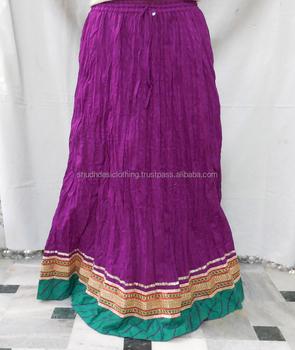 Indien Designer Coton Jupe Longue Fille Porter Buy Indien Designer Coton Jupe Longue Fille Porter,Acheter Des Jupes En Coton Indien À Des Prix De