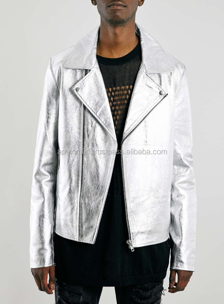 hot sale leather fashion jackets for men new in style