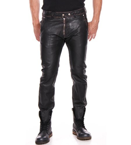 STYLE LEATHER PANT FOR MEN/ GENUINE LEATHER PANTS