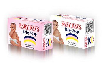 Baby Days White Soap