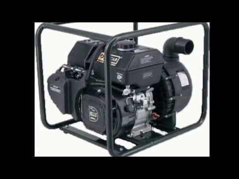 Supply Water Pump: Trash Pump DPT80 and High Lift Pump DPH50