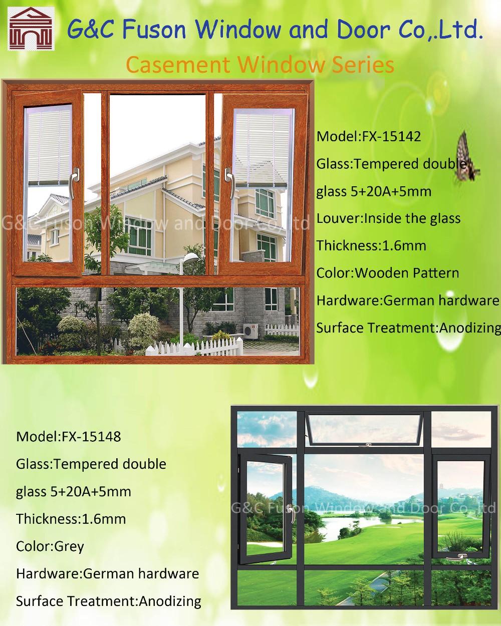 Window grill design and color - Aluminium Casement Window Grill Design