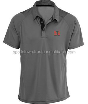 Camisa de polo de los hombres de color sólido de encargo uniforme polo t- ad5028a8b7415
