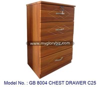 Cabinet Chest Drawer Bedroom Furniture In Wooden MDF, storage drawers organizer, wood drawer cabinet malaysia bedroom furnitures