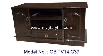 New Antique MDF Furniture Small Wooden TV Stand, Small Cabinet Wooden Lcd  Tv Stand Design